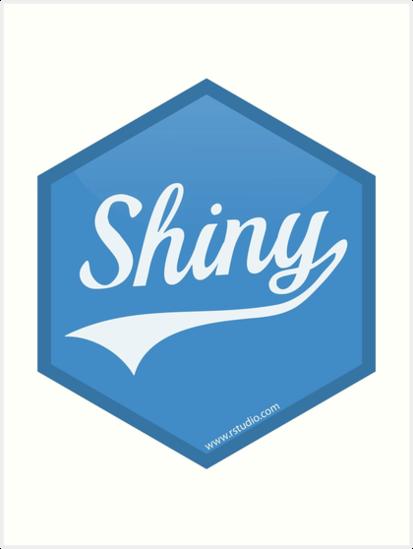 Hex Logo do pacote Shiny